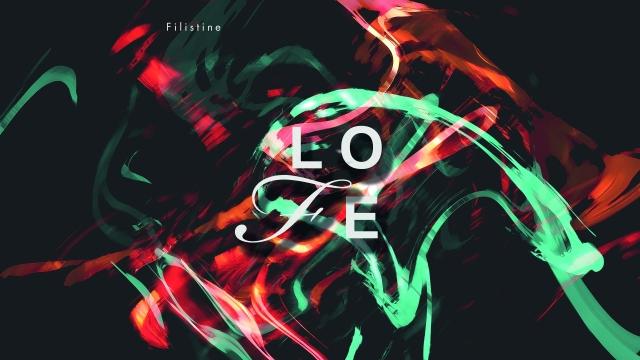 Filistine-LOFE-Albumcover by Pauline Meinke